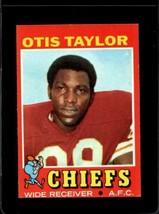 1971 TOPPS #139 OTIS TAYLOR EX+ CHIEFS  *X2723 - $3.96