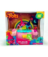 Just Play Dreamworks Trolls Jewelry Box Dance Hug and Sing Trolls Poppy ... - $30.68