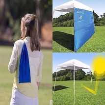 Canopy Tent Outdoor 4 Angled Leg Camping Gazebo... - $28.96