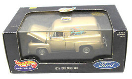 1999 Mattel Hot Wheels 1:43 Diecast Metal 1955 Ford Panel Van Joe's Speed Shop  - $25.23