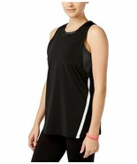 Jessica Simpson Large Junior 2-In-1 Sport Bra Tank Top Black, SIZE LARGE - $39.50