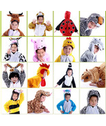 Kids Children Pajamas Kigurumi Unisex Cosplay Animal Costume sleepwear T... - $15.99