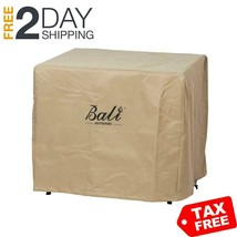BALI OUTDOORS Square Durable Brown Gas Fire Pit Cover, 30.7 Inch Wide 23... - $43.09