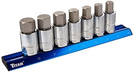 Titan 16131 Hex Bit Socket Set - $41.34