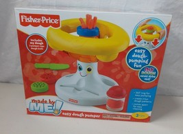 Fisher Price Made By Me Easy Dough Pumper Preschool Toddler Toy New - $19.98