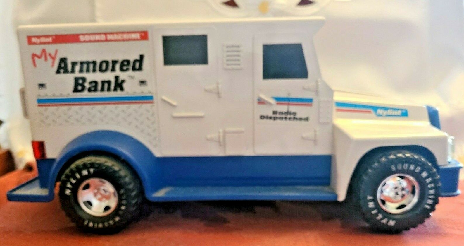 Nylint My Armored Bank Armored Car Sound Machine Talking Bank 1994
