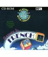 Spiele in Französisch Cd-Rom Software PC Win 3.1 oder Later - $5.33
