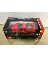 Burago - Enzo Ferrarri 1/24 Red -die cast, Ltd edition -New MISB - $39.59