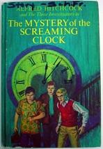 Three Investigators no.9 Mystery of the Screaming Clock 6th Print hc Arthur - $12.00