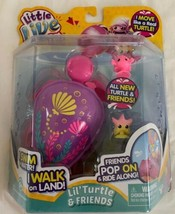 Little Live Pets Shelby The Reef Turtle Lil' Turtle & Friends Pop On Swi... - $19.79