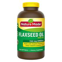 Nature Made Organic Flaxseed Oil 1,400 mg - Omega-3-6-9 for Heart Health - 300 S - $29.60