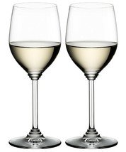 2 (Two) RIEDEL VIOGNIER/CHARDONNAY Lead Free Crystal Wine Glasses- Signed - $18.99