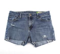 Gap Womens Cut Off Jeans Shorts Stretch Sz 6 L - $15.00
