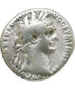 TRAJAN Silver Cistophoric Tetradrachm Legionary Standards Rome mint Anci... - $161.10