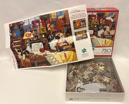 Buffalo Cats of Charles Wysocki puzzle Maggie the Messmaker 750 pc sewin... - $8.00