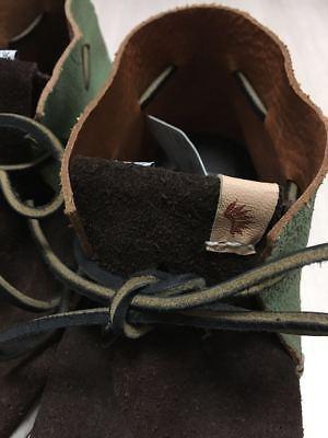 visvim HURON MOC-FOLK DK.BROWN US8 sneaker boots suede shoes  image 4