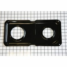 WB34K10009 GE Burner Pan  Right (Bk Genuine OEM WB34K10009 - $23.80