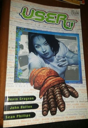 User Comic Book Book 1 of 3 Vertigo Dc Comics