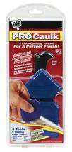 DAP PRO 4pc Caulk Refinishing Tool Kit Seamless Joints Removes Grout Sea... - $14.36