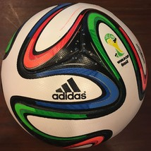 ADIDAS BRAZUCA SOCCER MATCH BALL FIFA WORLD CUP 2014 THERMAL REPLICA SIZE 5 - $49.99