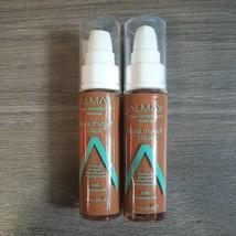 SET OF 2- Almay Make Myself Clear Liquid Makeup 900 Cappuccino Foundation NWOB - $11.99