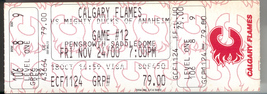 Calgary Flames Collectable Ticket Stub vs. Anaheim Mighty Ducks 2000 Pen... - $8.95