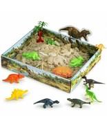 CoolSand Dino Discovery Moldable Sand 3D Sandbox Series Dinosaur Figures... - $16.83