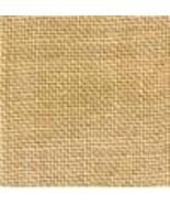 FABRIC CUT 32ct straw linen 13x18 Bringing Good Cheer Blackbird Design  - $12.50