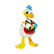 "Adorable 7"" High Disney Britto Donald Duck Figurine Gift Boxed image 2"