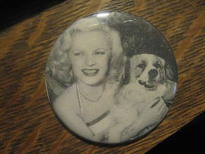 June Haver Movie Star 1948 Friskies Dog Food Advertisement Lipstick Mirror
