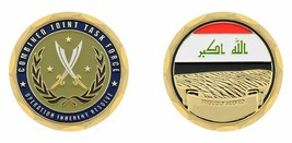 "IRAQ OIR OPERATION INHERENT RESOLVE 1.75"" CHALLENGE COIN - $16.24"