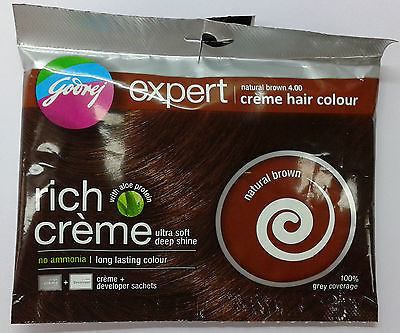 Godrej Expert  Creme Hair Colour  Choose from 5 Colors  20 GM + 20 ML image 5