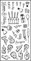 Fiskars Put on Your Party Hat Stamp Set #12-8951