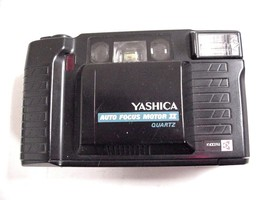 Yashica Auto Focus Motor II, 35 mm Camera w/Built-in Flash and 1:3.5 Lens - $35.63