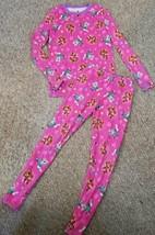 CUDDL DUDS Pink Dri Fit PAW PATROL Base Layer Pajamas Girls S Size 6 6X ... - $6.79