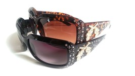 Womens Fashion Rhinestone Sunglasses Pistol Bling - £7.88 GBP