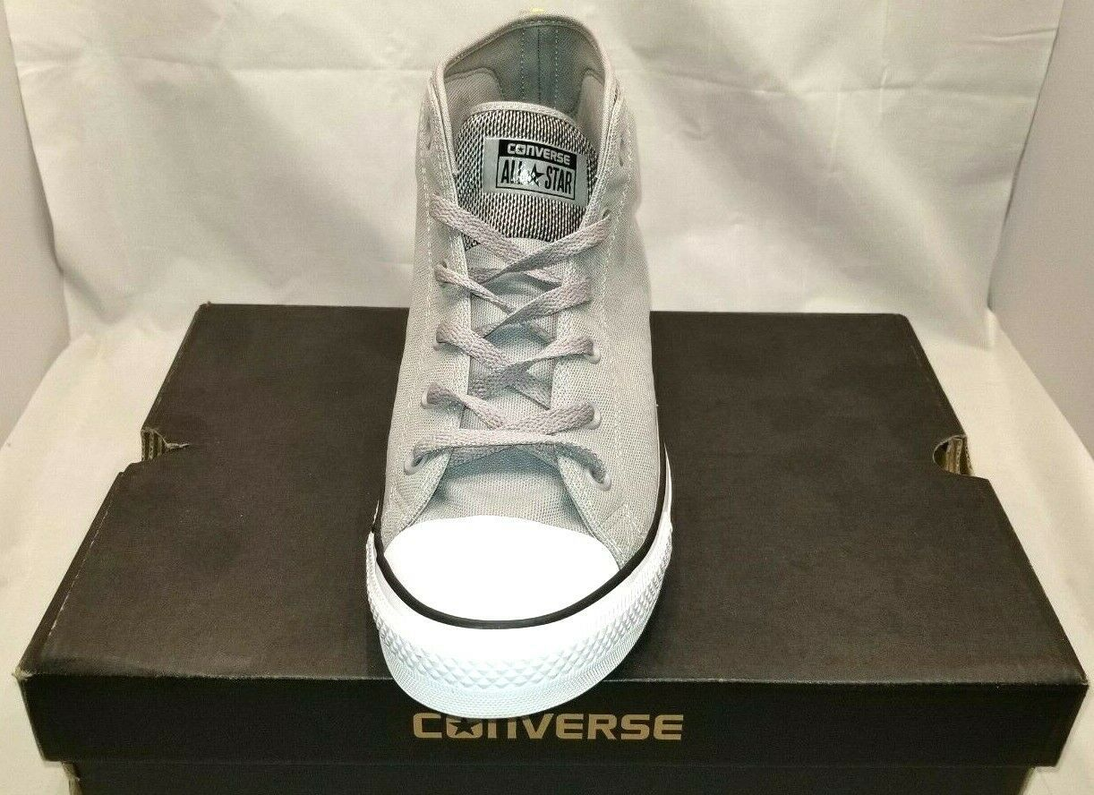 Converse All Star Size 12 (Mens) Gray Mid Tops Sneakers New Mens Shoes NIB