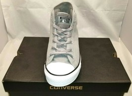 Converse All Star Size 12 (Mens) Gray Mid Tops Sneakers New Mens Shoes NIB - $39.95