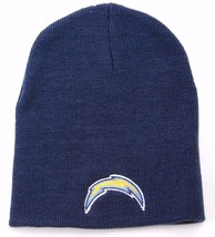San Diego Chargers Nfl Team Apparel Cuffless Knit Winter HAT/BEANIE/TOQUE - $16.14