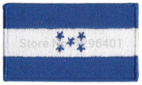 Honduras Embroidered Patch - 2 1/4 x 1 1/4 ""