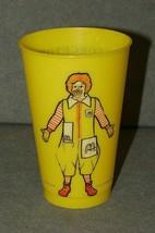 Ronald McDonald Georgetown Ohio College 1976 Football Schedule Plastic Cup - $17.00