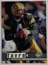 1998 Upper Deck UD Choice #64 Brett Favre Football Card  - $3.42