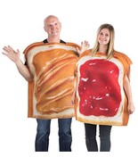 Tigerdoe Peanut Butter & Jelly Costume Set - Couples Costumes - Food - $36.72