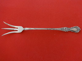 """Floral by Wallace Plate Silverplate Lettuce Serving Fork 9"""" - $59.00"""