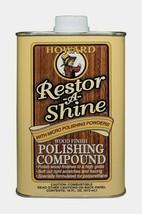 Howard Restor-A-Shine 16 oz. Cream POLISHING COMPOUND Unscented Powders ... - $16.99