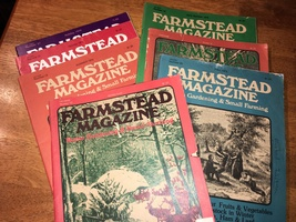 Farmstead Magazine - Lot of 7 Vintage, 1977 - 1979 - Hobby Farm/Garden -... - $10.00