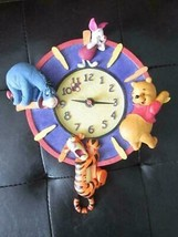 Extremely Rare! Walt Disney Winnie the Pooh with Tigger Eeyore Piglet Wa... - $247.50