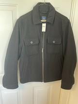 Gap Wool Jacket S Black Small NWT Mens - $60.00