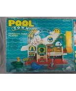Animal Fair Pool Town Paradise Park Playset 1987 - $26.95