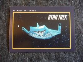 Star Trek 25th Anniversary 1991 Impel Trading Card # 17 Balance of Terror - $0.95